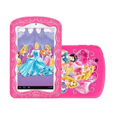 "Foto Tablet Tectoy Princesas TT-5300i 8GB 7"" Android 2 MP"