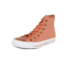Foto Tênis Converse Feminino CT AS Brush Off Leather Toecap Hi Casual