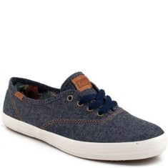 Foto Tênis Keds Feminino Champion Brushed Denin Casual