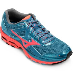 Foto Tênis Mizuno Feminino Wave Elevation 2 20Th Corrida