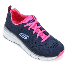 Foto Tênis Skechers Feminino Fashion Fit Statement Piece Corrida