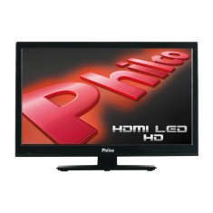 "Foto TV LED 16"" Philco PH16N59P 1 HDMI PC Frequência 60 Hz"
