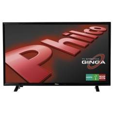 "Foto TV LED 32"" Philco PH32E31DG 2 HDMI USB Frequência 60 Hz"