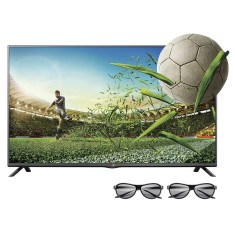 "Foto TV LED 3D 49"" LG Cinema Full HD 49LB6200 2 HDMI"