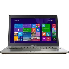 "Foto Ultrabook Gigabyte U24F Intel Core i5 4200U 14"" 8GB HD 750 GB GeForce GT 750M SSD 128"