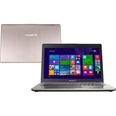 "Foto Ultrabook Gigabyte U24T Intel Core i7 4500U 14"" 8GB HD 750 GB SSD 128"