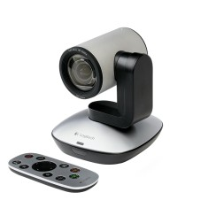 Foto WebCam Logitech 2 MP Filma em Full HD PTZ Pro 960-001021