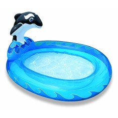 Piscina Inflável 208 l Oval Intex Baleia 57436