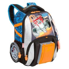 Mochila Escolar Sestini Hot Wheels Hot Wheels 17Z M 64596