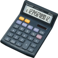 Calculadora De Mesa Sharp EL124A