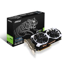 Placa de Video NVIDIA GeForce GTX 960 4 GB GDDR5 128 Bits MSI GTX 960 4GD5T OC