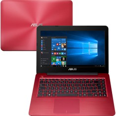 "Notebook Asus Intel Core i3 4005U 4ª Geração 4GB de RAM HD 1 TB 14"" Windows 10 Z450LA"
