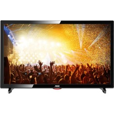 "TV LED 19"" AOC LE19D1461 1 HDMI USB Frequência 60 Hz"