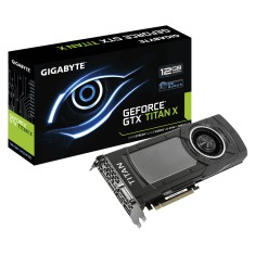Placa de Video NVIDIA GeForce GTX Titan X 12 GB GDDR5 384 Bits Gigabyte GV-NTITANXD5-12GD-B