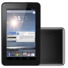 "Tablet Multilaser 4GB LCD 7"" Android 4.2 (Jelly Bean Plus) M7s NB125"