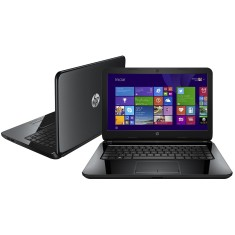 "Notebook HP Intel Core i5 4210U 4ª Geração 4GB de RAM HD 500 GB 14"" Windows 8.1 14-R052BR"