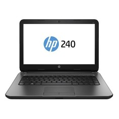 "Notebook HP 240 G4 Intel Core i3 5005U 14"" 8GB SSD 120 GB"