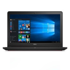 "Notebook Dell Inspiron 7000 Intel Core i7 6700HQ 6ª Geração 16GB de RAM SSD 480 GB 15,6"" GeForce GTX 960M Windows 10 I15-7559-A20 Gaming Edition"