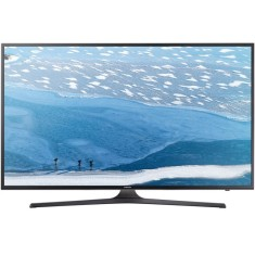 "Smart TV TV LED 55"" Samsung Série 6 4K HDR Netflix UN55KU6000 3 HDMI"