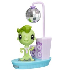 Boneca Littlest Pet Shop Movimentos Mágicos Vinnie Hasbro