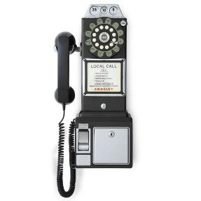 Telefone com Fio Crosley 1950's Pay Phone