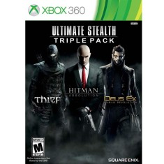 Jogo Ultimate Stealth: Trible Pack Xbox 360 Square Enix