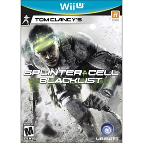 Jogo Tom Clancy's Splinter Cell: Black List Wii U Ubisoft