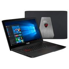 "Notebook Asus ROG Intel Core i5 6300HQ 6ª Geração 8GB de RAM HD 1 TB 15,6"" GeForce GTX 960M Windows 10 Home GL552VW"