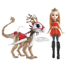 Boneca Ever After High Apple White e Braebyrn's Mattel