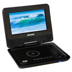 "DVD Player Portátil Tela 7"" AMD 1100 Amvox"