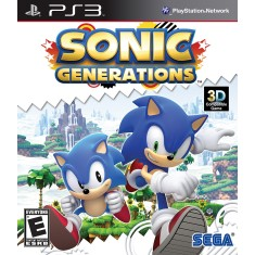 Jogo Sonic Generations PlayStation 3 Sega