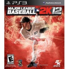 Jogo Major League Baseball 2K12 PlayStation 3 2K