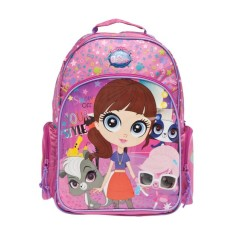 Mochila Escolar DMW Littlest Pet Shop 48757 M