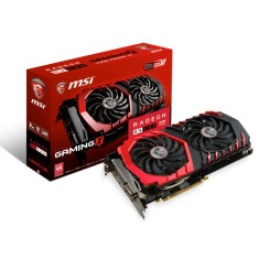 Placa de Video ATI Radeon RX 480 8 GB GDDR5 256 Bits MSI RX 480 Gaming X 4G