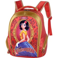 Mochila Escolar Luxcel Princess IS31383PR