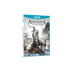 Jogo Assassin's Creed 3 Wii U Ubisoft