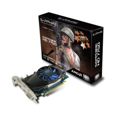 Placa de Video ATI Radeon HD 7750 1 GB GDDR5 128 Bits Sapphire 11202-00-20G