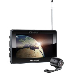"GPS Automotivo Multilaser Tracker GP039 7,0 "" TV Digital Câmera de Ré"