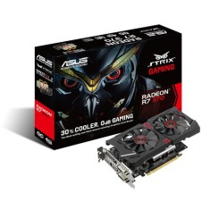 Placa de Video ATI Radeon R7 370 4 GB GDDR5 256 Bits Asus STRIX-R7370-DC2OC-4GD5-GAMING