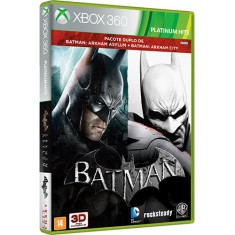 Jogo Combo Batman Arkham Asylum & City Xbox 360 Warner Bros