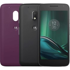 Smartphone Motorola Moto G G4 Play DTV Colors TV Digital 16GB XT1603 8,0 MP 2 Chips Android 6.0 (Marshmallow) 3G 4G Wi-Fi