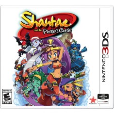 Jogo Shantae and the Pirate's Curse Rising Star Games Nintendo 3DS