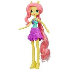 Boneca My Little Pony Equestria Girls - FlutterShy A8842 Hasbro