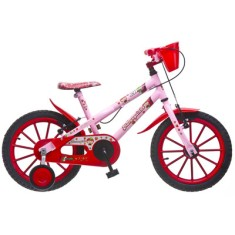 Bicicleta Colli Bikes Fruit Aro 16 Freio V-Brake Moranguinho