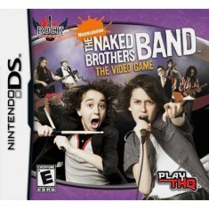 Jogo Rock Univesity Presents: Naked Brothers Band THQ Nintendo DS