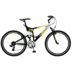 Bicicleta Mountain Bike Fischer 21 Marchas Aro 26 Suspensão Full Suspension Freio V-Brake Altary
