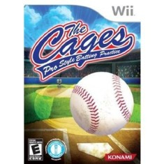 Jogo The Cages: Pro Style Batting Practice Wii Konami
