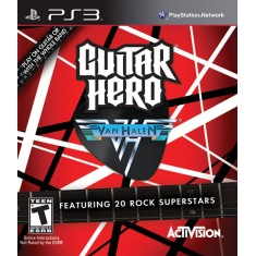 Jogo Guitar Hero Van Halen PlayStation 3 Activision