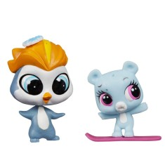 Boneca Littlest Pet Shop Eliza Blue e Rad Slopington Hasbro