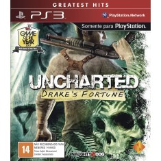 Jogo Uncharted Drakes Fortune PlayStation 3 Sony